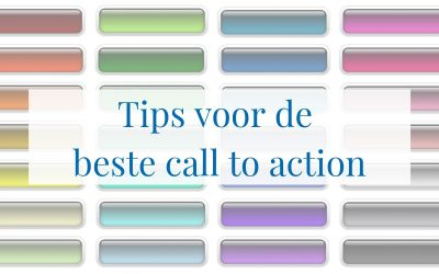 Tips voor de beste call to action